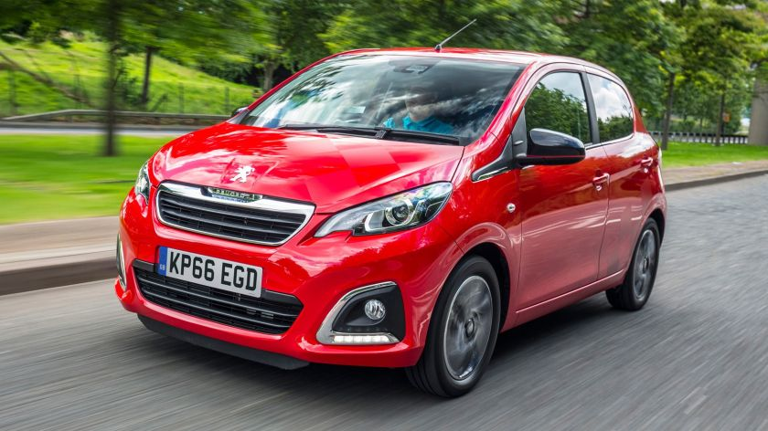 Best Cars Rental, Ηράκλειο, Group A Peugeot 108