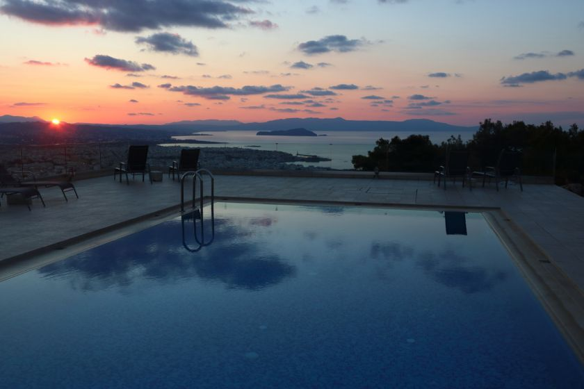 Golden Key Villa, Chania town, lovely sunset 1