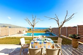 Marvelous Villas, Georgioupolis, middle villa pool area 4