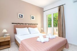 Aptera Beach Apartment, Chrissi Akti, bedroom double 1a