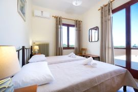 Garden House, Chania town, bedroom twin 3a
