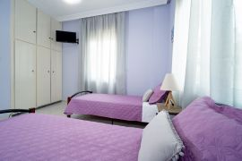 Happy Apartment, Chania town, bedroom twin 1b