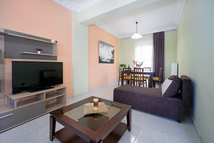 Happy Apartment, Chania town, living room area 1
