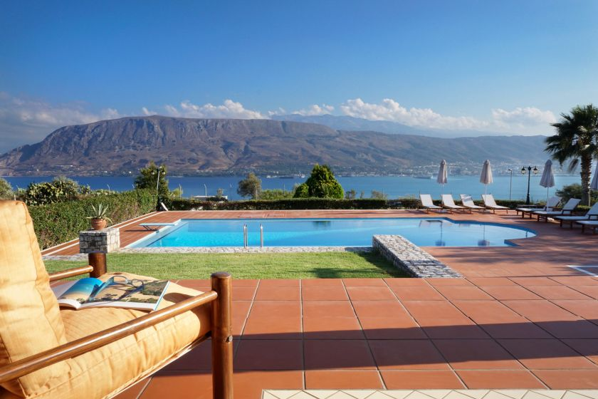 Villa Thealassa, Pithari, lovely sea views 1
