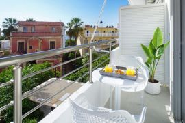Harbor Suite, Chania, balcony view 1