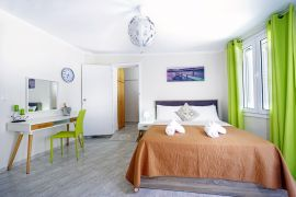 Nea Chora Maisonette, Χανιά, bedroom ground floor 1a