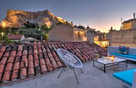 Plaka Residence, Plaka, rooftop night view