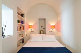 Archipel Mansion, Fira, double bedroom 1a