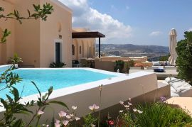 Archipel Mansion, Fira, jacuzzi