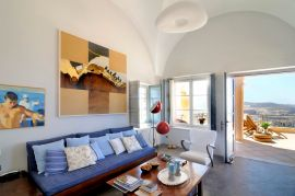 Archipel Mansion, Fira, living room 1