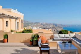Archipel Mansion, Fira, terrace 1