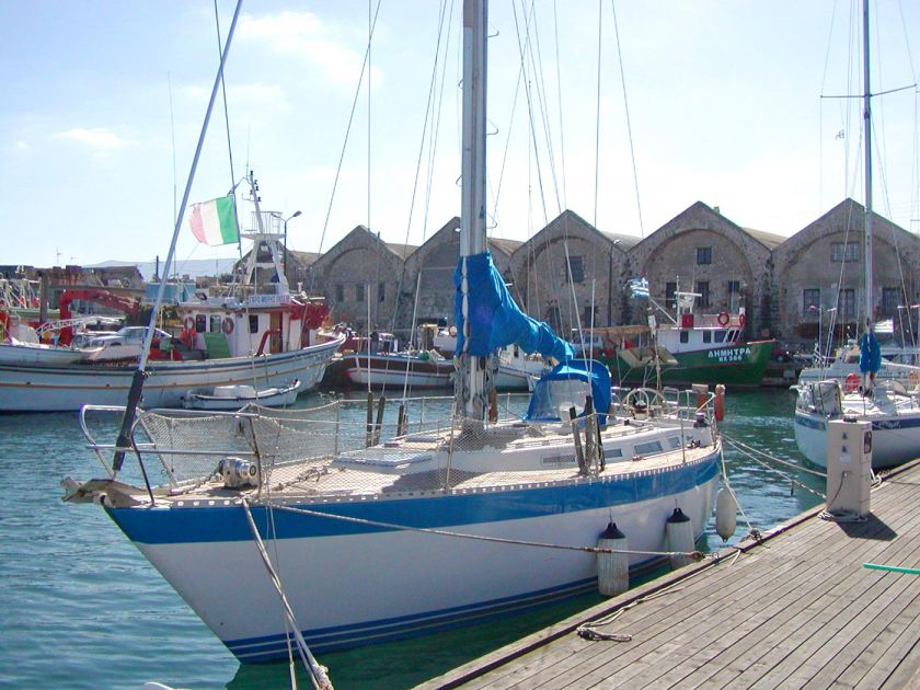 Sailing Boats, Chania town, sailing boat 1