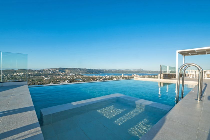 Villa Infinity View, Nerokoúros, swimming pool 1