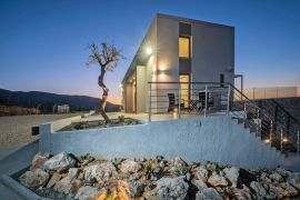Villa Infinity View, Nerokouros, villa evening view 1