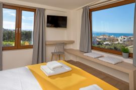 Urban Villa, Agia Marina, double bedroom 4b panorea