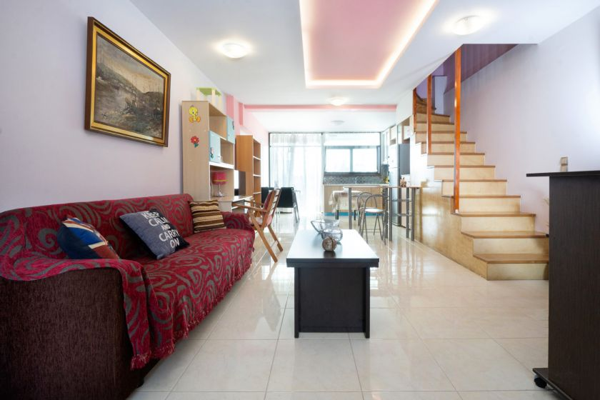 Bright Maisonette, Chrissi Akti, open plan 2
