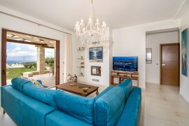 Villa Aloni, Kissamos, living room area 1b