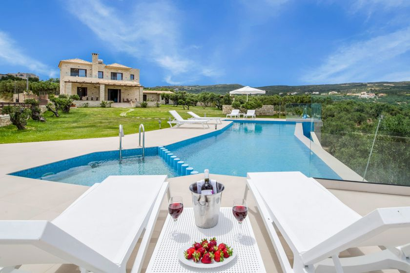 Villa Aloni, Kissamos, pool area 3