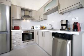 Ellie Apartment, Agioi Apostoloi, fully equipped kitchen 1