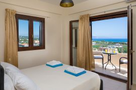 Stratianna View Villa, Gerani, bedroom top floor 4b