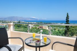 Stratianna View Villa, Gerani, veranda top floor lovely sea views