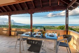Villa Nature View, Tavronitis, ground floor balcony 1