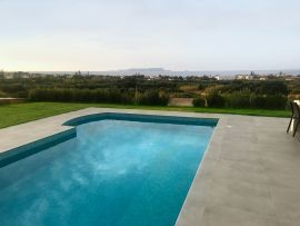 Villa Basilic, Anissaras, swimming pool