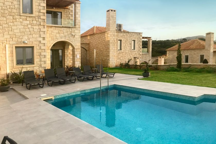 Villa Basilic, Anissaras, swimming pool 2