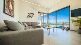 Villa Infinity View, Chania town, living room 1