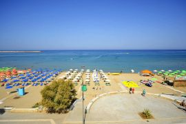 Steris Beach Hotel Apartments, Rethymno town, beach 2