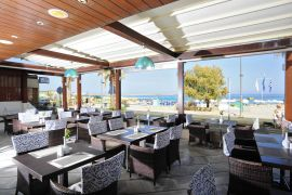 Steris Beach Hotel Apartments, Rethymno town, restaurant 1b