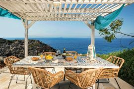 Villa Endless Sea, Tersanas, outdoors dining area