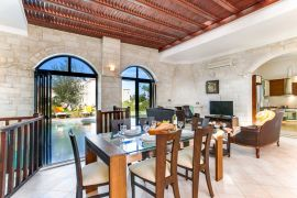 Platanias Villas, Platanias, open plan area example 1