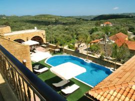 Palazzo Loupassi Boutique Villas, Kolymvari, pool area overview