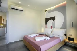 Athina Suites, Platanias, bedroom double 1c