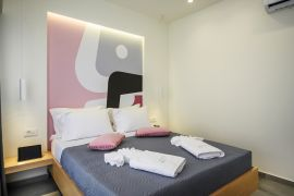 Athina Suites, Platanias, bedroom double 2a