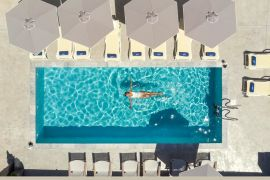 Athina Suites, Platanias, pool area 1