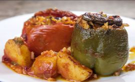 Local Cook, Chania, stuffed vegetables 1