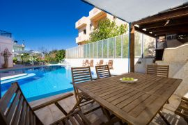 Spacious Villa, Agios Onoufrios, pool area 4