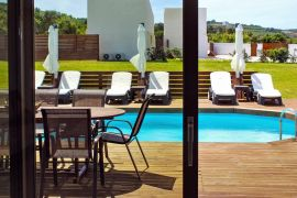 Summer Feel Villas, Μάλεμε, east villa pool view 1