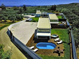 Summer Feel Villas, Μάλεμε, panoramic all villas 2