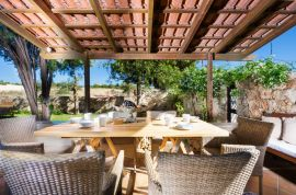 Villa Giani, Chania town, outdoor dining table 1