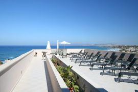 CHC Galini Sea View Hotel, Agia Marina, Terrace 1