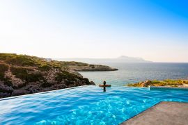 Villa Searock, Αλμυρίδα, private pool with seaview 2