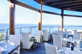 CHC Galini Sea View Hotel, Agia Marina, main restaurant 1