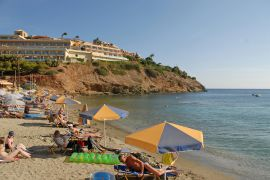 Sea Side Resort & Spa, Agia Pelagia, beach-1