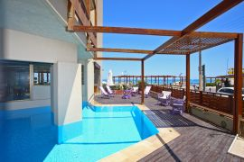 Steris Beach Hotel Apartments, Ретимно town, pool-1