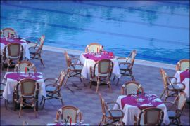 Bio Suites Hotel, Rethymno town, dinning pool