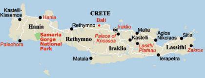 carte de réthymnon à Aposperitis Houses à Bali   TheHotel.gr